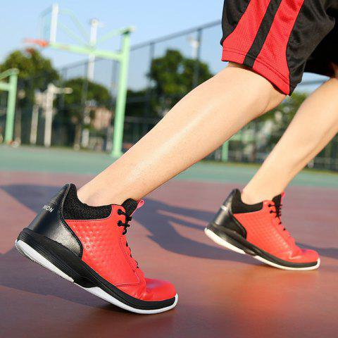 Shop Hot Sale Men's Basketball Shoes  High Top Rubber Men Sneakers New Sports Shoes