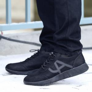 Men's Casual Sports Shoes Lace Up Loafers Outdoor Sneakers -