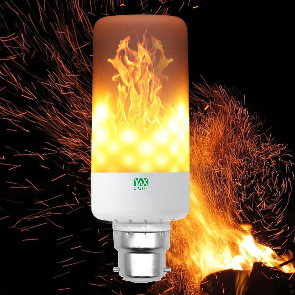 warm white ywxlight b22 led flame effect fire light bulbs flickering emulation flame lamp ac85. Black Bedroom Furniture Sets. Home Design Ideas