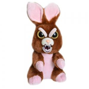 Snarl Adorable Plush Stuffed Polar Christmas Rabbit Toy with Face-changing Function -