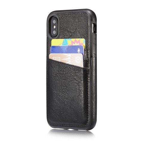 Sale Wallet Slim Leather Back Case with Credit Card Holder for iPhone X