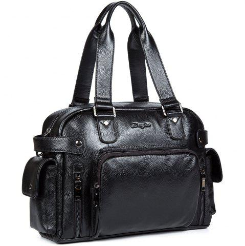 Store Dan Jue Cross Section Shoulder Messenger Handbag Leather Briefcase Business Bag