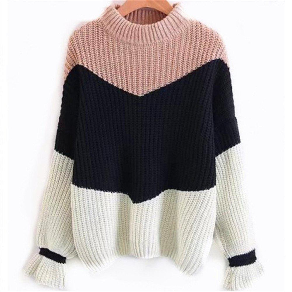 Shops Round Neck Long Seeved Sweater