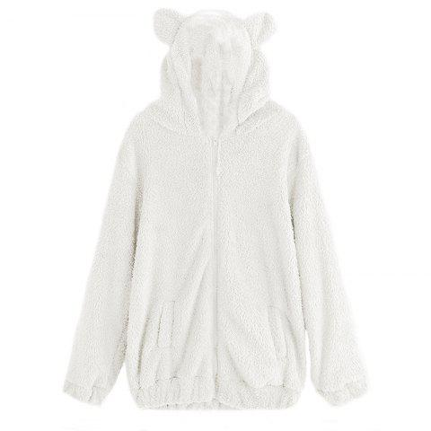 Trendy Women's Casual Fashion Big Size Hooded Fur Coat