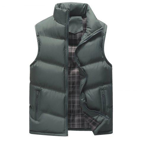 Fashion The Men's Trend Plus The Thick Cotton Waistcoat