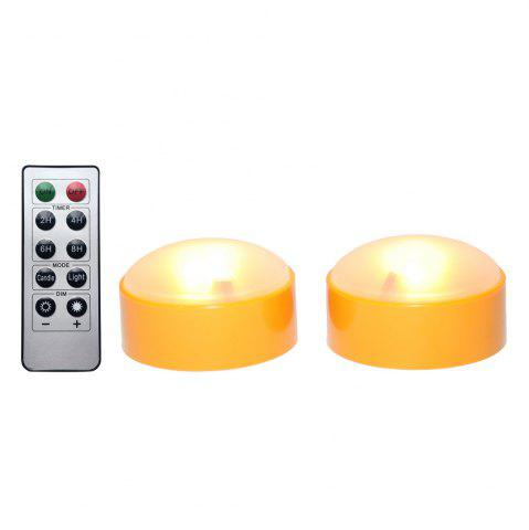 Hot Set of 2 LED Pumpkin Lights with Remote and Timer Jack-O-Lantern Light Halloween Light