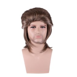 Men Holiday Party Cosplay Wig -