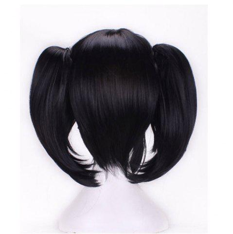 Discount Girls Anime Cosplay Party Double Ponytail Wig