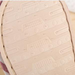 Women's and Men's  Linen Home Slippers for Spring Summer and  Autumn -
