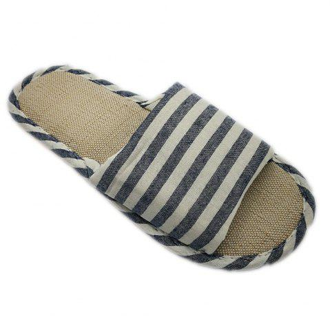 Hot Women's and Men's  Linen Home Slippers for Spring Summer and  Autumn
