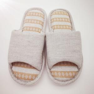 Men's Cotton and Linen House Slippers -