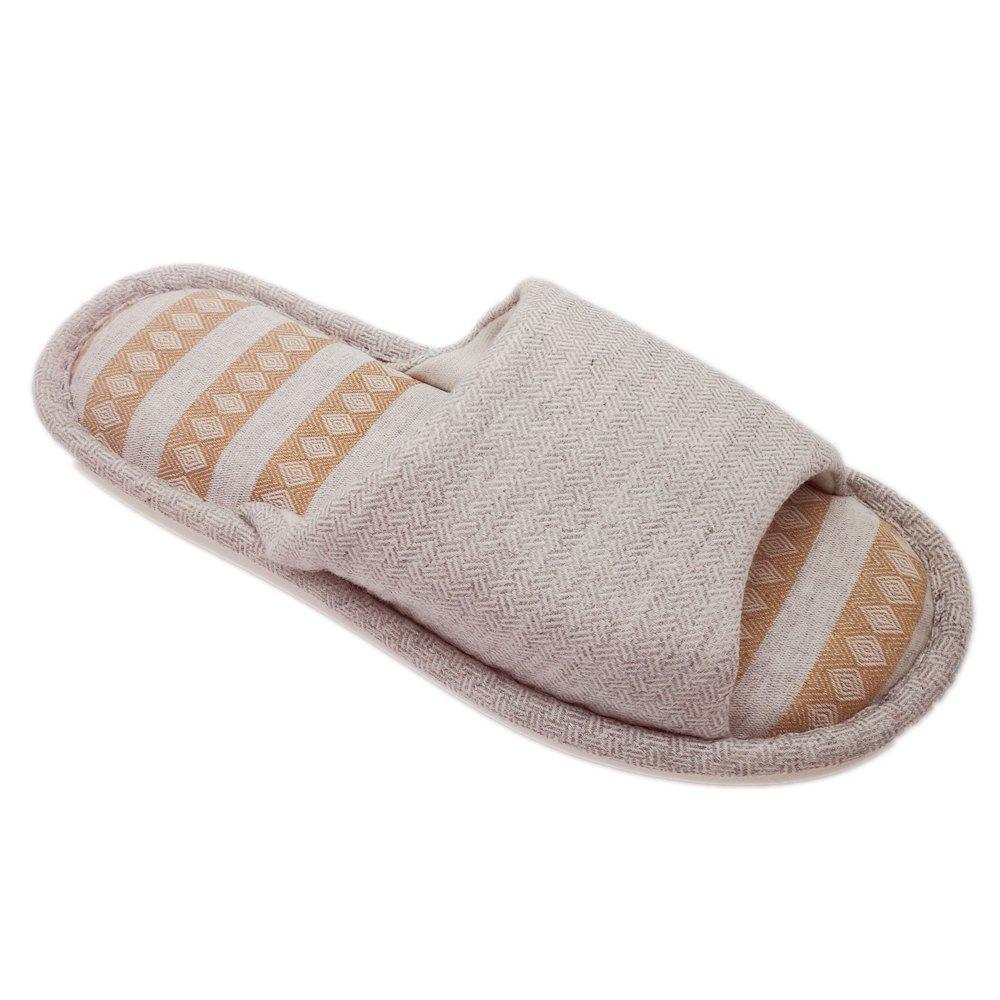 Store Men's Cotton and Linen House Slippers