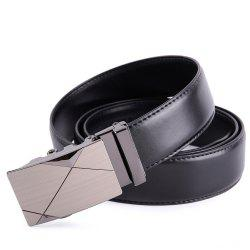 Crocodile Fashion Leather Automatic Buckle Men's Belt G88938 -