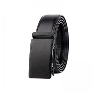 Bomeans Cypress Simple Leather Automatic Buckle Men's Belt -