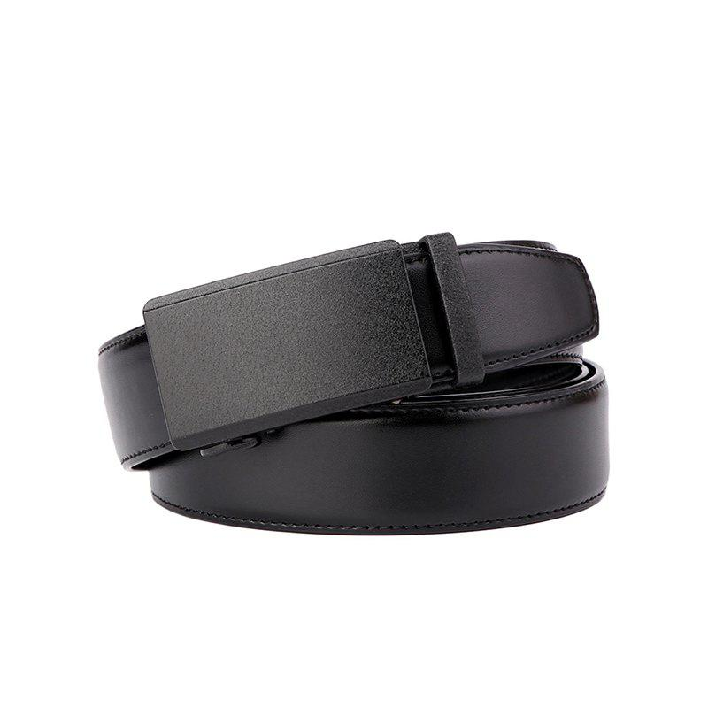 Unique Bomeans Cypress Simple Leather Automatic Buckle Men's Belt
