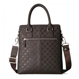 HAUT TON Embossing Multifunctional Men's Briefcase Laptop Handbag -