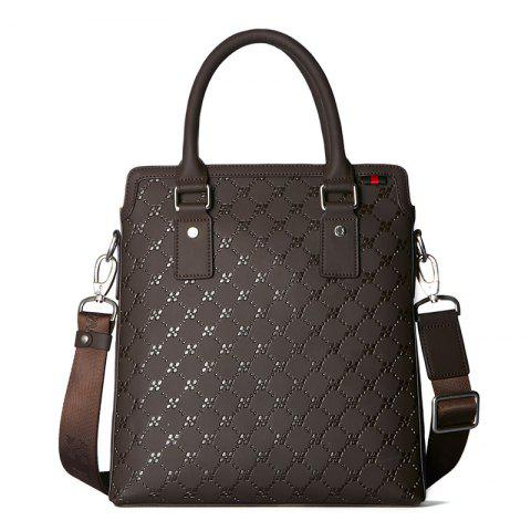 Outfit HAUT TON Embossing Multifunctional Men's Briefcase Laptop Handbag