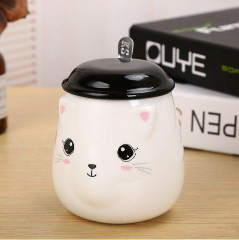 Fancy 400ML Cute Cat Creative Expression Ceramic Mug