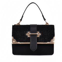 New Woolen Fashion Cross-body Bag Small Square Package -