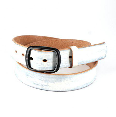 Affordable Men's Genuine Leather Belt Nickel Free Buckle
