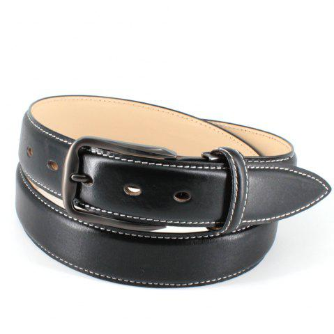 Unique Mens Leather Belt Double Sided Full Grain Vegetable Tanned Belts