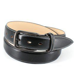 Mens Leather Belt Double Sided Full Grain Vegetable Tanned Belts -