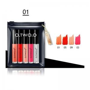 O.TWO.O Matte Liquid Lipstick Kit 5 colors in one kit Matte Lip gloss -
