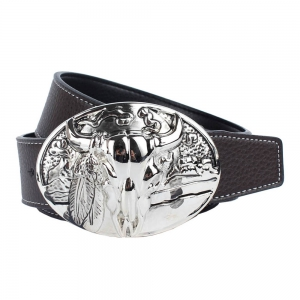 Western Cowboy Belt Leather -