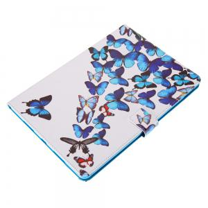 Case for iPad Pro 10.5 inch Butterfly Magnetic PU Leather Smart Stand Case Cover For iPad Pro 10.5 2017 New Model Fundas -