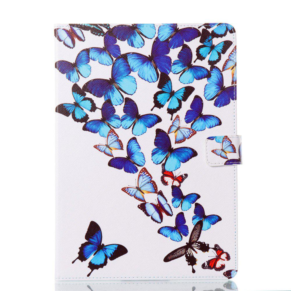 Unique Case for iPad Pro 10.5 inch Butterfly Magnetic PU Leather Smart Stand Case Cover For iPad Pro 10.5 2017 New Model Fundas