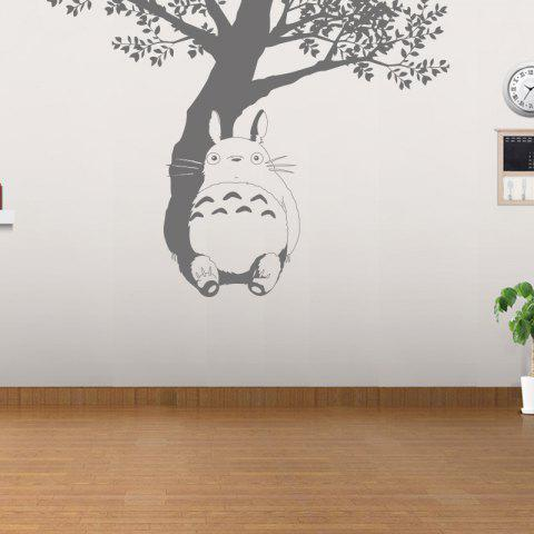 Shops Under The Tree Totoro Vinyl Wall Sticker Cartoon Animals Film  Removable Decals For Kids Room