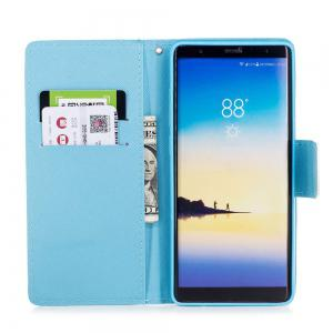 The New Painted PU Phone Case for Samsung Galaxy Note 8 -