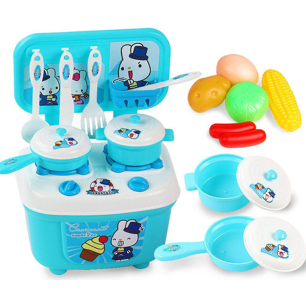 2019 Children Kitchen Set Pretend Play Cut Toy Utensils 9 30pcs