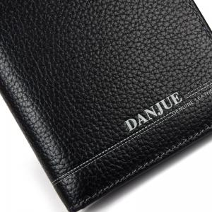 DANJUE New Genuine Leather Wallets for Men'S Long Real Leather Business Purse Fashion Clutches Bag -