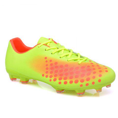 ZEACAVA Men Autumn Green Battlefield Fashion Trend Training Football Shoes GREEN
