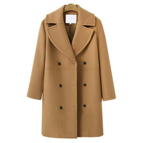 Affordable Autumn Winter Women Woolen Coat