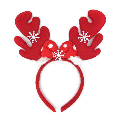 Affordable 12Pcs Merry Christmas Ornaments Elk Antlers Reindeer Decorations Headband Party