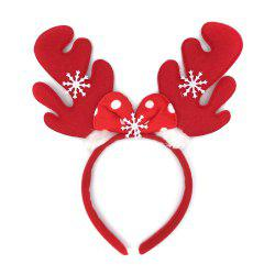 12Pcs Merry Christmas Ornaments Elk Antlers Reindeer Decorations Headband Party -