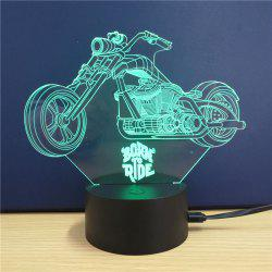 Harley Davidson Motorcycle  Gift Advertising Promotion LED Touches The Color-Changing 3D Lamp USB Creative Nightlight -