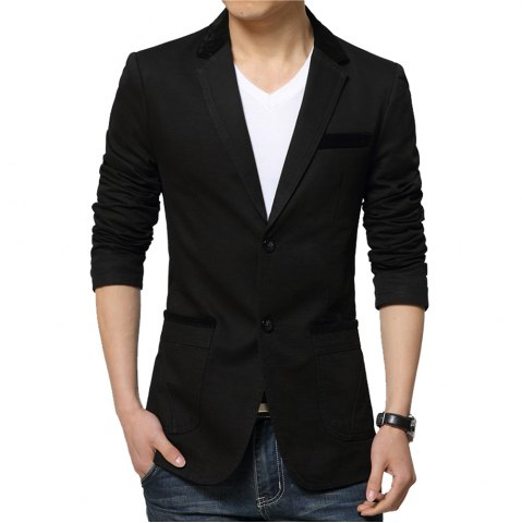 Best Winter Fall Spring Men Turn-Down Collar Overcoat Casual Fashion Slim Outwear Trench Coat