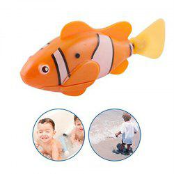 Artificial Glow Swimming Robot Fish Activated in Water Magical Electronic Toy Kids Children Gift -