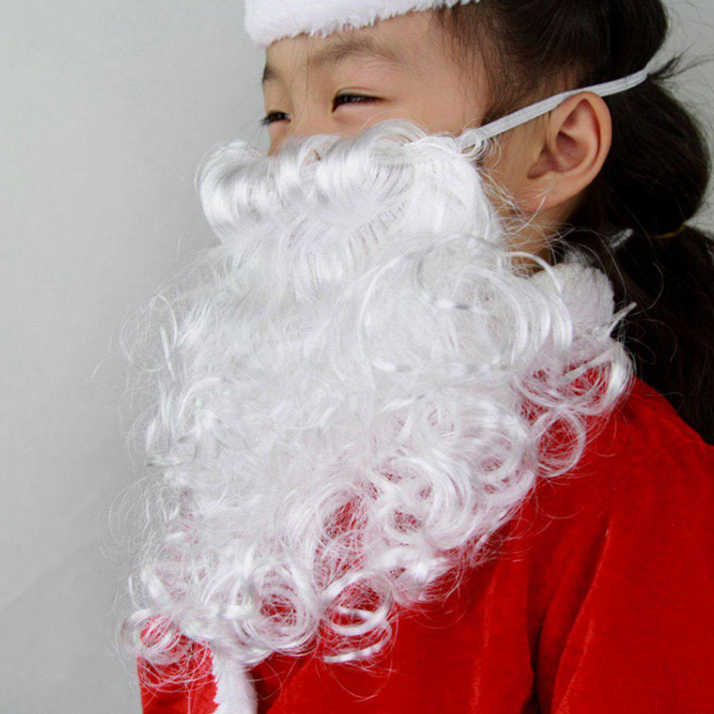 Trendy Santa Claus Dressed Santa Beard
