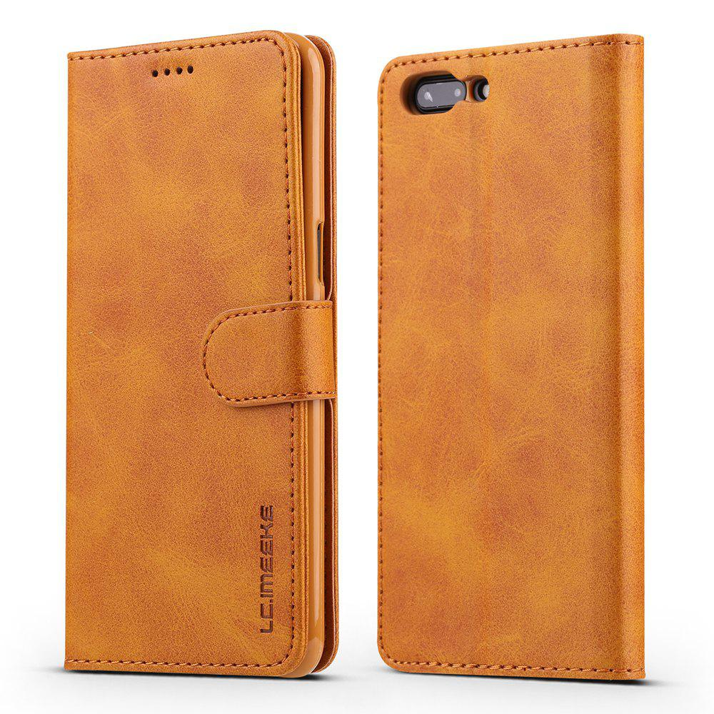 quality design 84459 b0179 LCIMEEKE Solid Color Horizontal Flip Stand Wallet Case for OnePlus 5