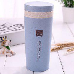 DIHE Wheat Straw Double Deck Vacuum Cup Cover Band Environmental Protection -