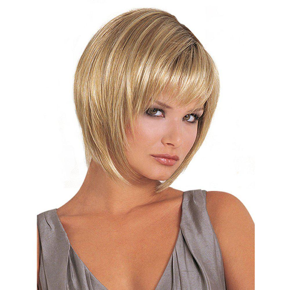 48% OFF Women's Short Wig Straight Hair Wigs For Women | Rosegal