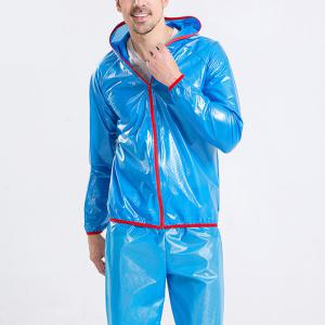 Split Raincoat Vêtements ultra-minces -