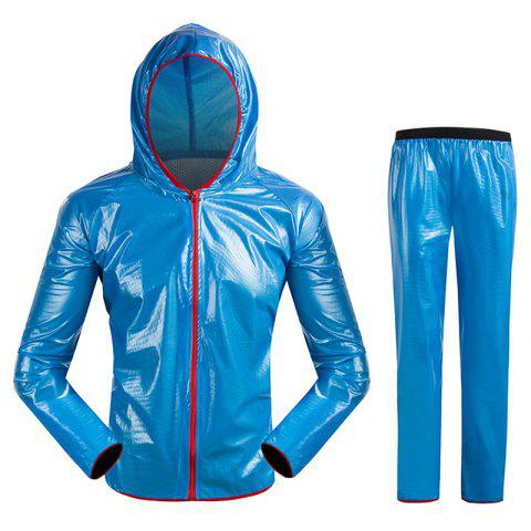 Split Raincoat Vêtements ultra-minces