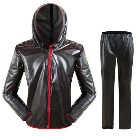 Chic Split Raincoat Ultra-Thin Skin Clothing