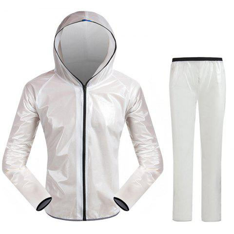 Cheap Split Raincoat Ultra-Thin Skin Clothing