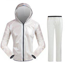 Split Raincoat Ultra-Thin Skin Clothing -